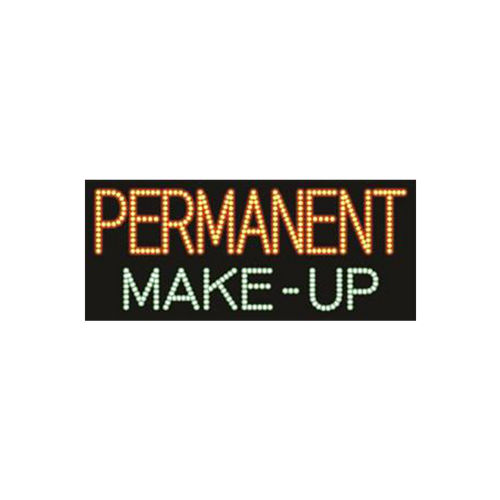 "Cre8tion LED signs ""PerManent Make-Up"", P#0401, 23070 KK BB"