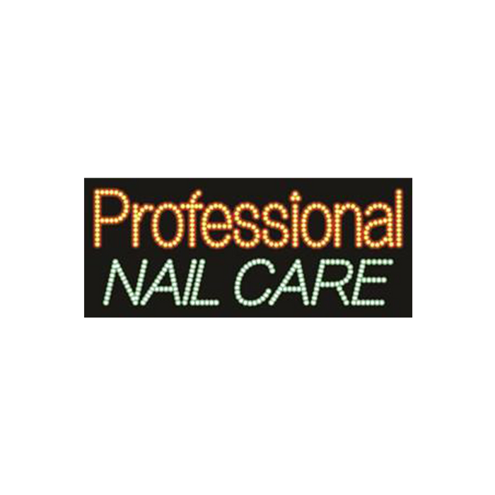 "Cre8tion LED signs ""Professional Nail Care"", P#0501, 23071 KK BB"