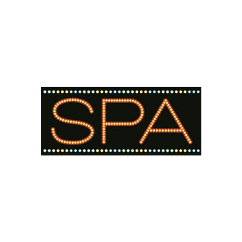 "Cre8tion LED signs ""Spa #1"", S#0301, 23075 KK BB"