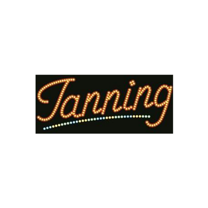 "Cre8tion LED signs ""Tanning #1"", T#0101, 23080 KK BB"