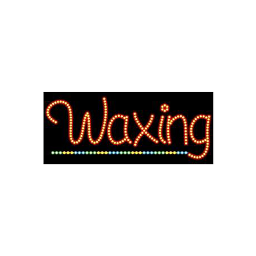 "Cre8tion LED signs ""Waxing #1"", W#0201, 23085 KK BB"
