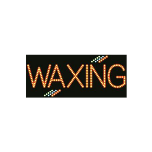 "Cre8tion LED signs ""Waxing #2"", W#0202, 23086 KK BB"