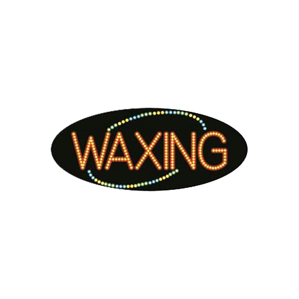 "Cre8tion LED signs ""Waxing #4"", W#0204, 23088 KK BB"