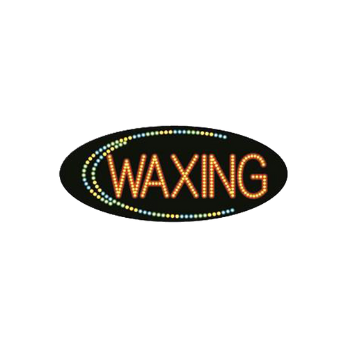 "Cre8tion LED signs ""Waxing #5"", W#0205, 23089 KK BB"