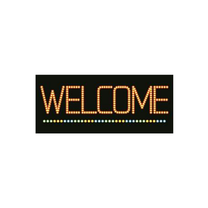 "Cre8tion LED signs ""Welcome #2"", W#0302, 23091 KK BB"