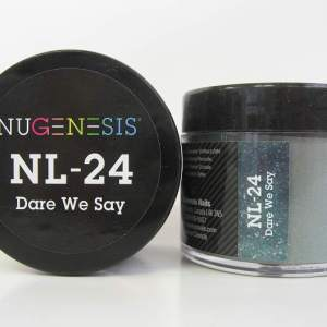 Nugenesis Dipping Powder, NL 024, Dare We Say, 2oz KK1003