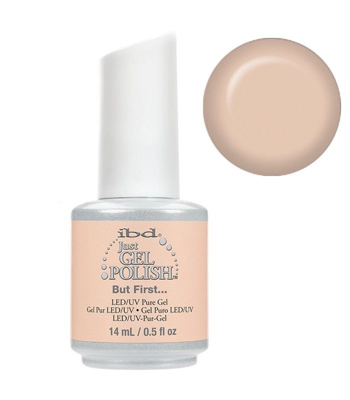 IBD Just Gel Polish, 65725, Nude Collection, But First..., 0.5oz KK