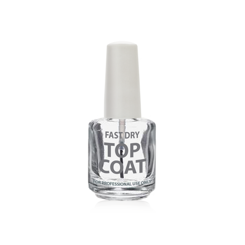 Cre8tion Empty Bottle, Fast Dry Top Coat, 0.5oz, 26082