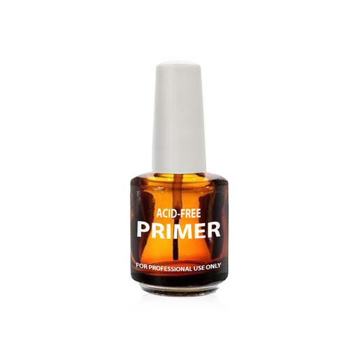 Cre8tion Empty Glass Amber Bottle, Acid Free Primer, 0.5oz, 26171 (Packing: 288 pcs/case)