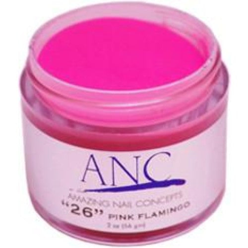 ANC Dipping Powder, 2OP026, Pink Flamingo, 2oz, 74593 KK