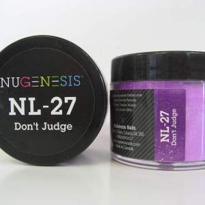Nugenesis Dipping Powder, NL 027, Don't Judge, 2oz KK1009