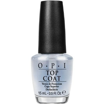 OPI Nail Lacquer, Top Coat, 27102, 0.5oz