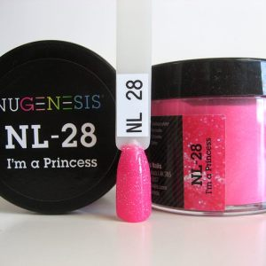 Nugenesis Dipping Powder, NL 028, I'm a Princess, 2oz KK1003