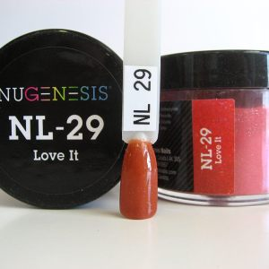 Nugenesis Dipping Powder, NL 029, Love it, 2oz KK1003