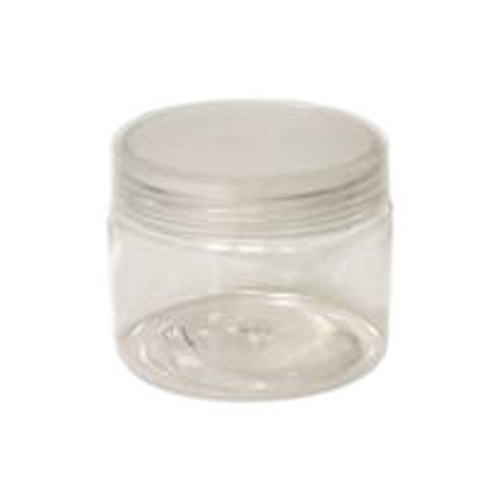 Cre8tion Clear Plastic Jar, 2oz, 26057