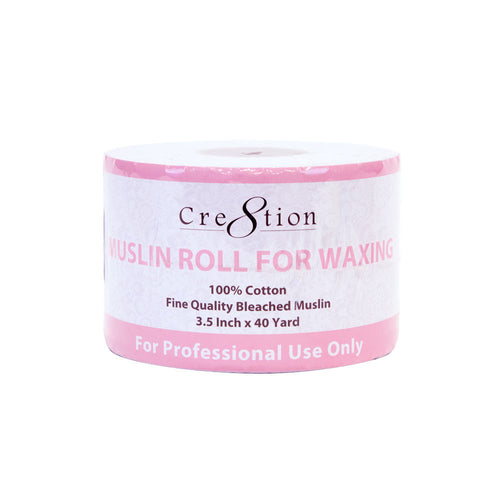 "Cre8tion Muslin Waxing Roll, 40 yards x 3.5"", 21097 KK BB"