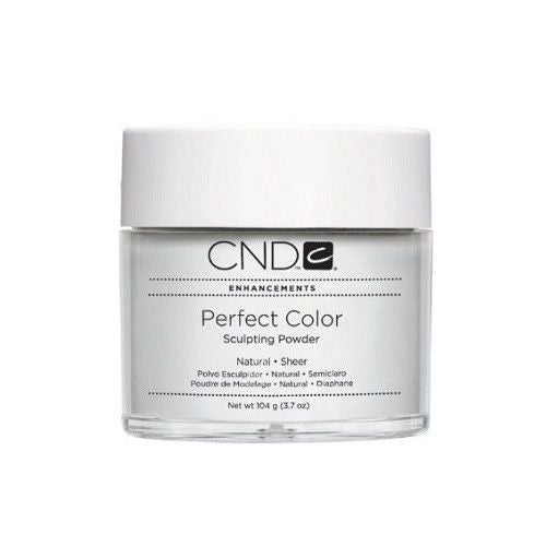 CND Perfect Color Sculpting Powders, 03082, Clear, 3.7oz KK0730
