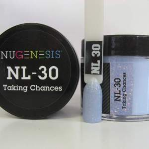 Nugenesis Dipping Powder, NL 030, Taking Chances, 2oz KK1003
