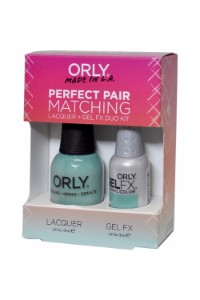 Orly Perfect Pair Lacquer & Gel FX, 31106, Matching Gumdrop