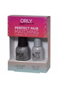 Orly Perfect Pair Lacquer & Gel FX, 31115, Tiara