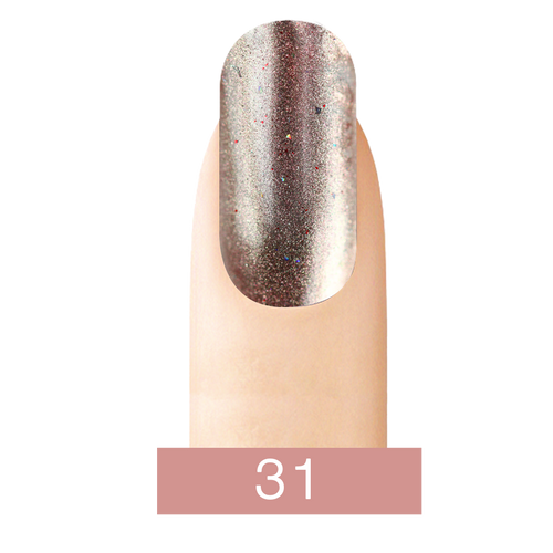 Cre8tion Chrome Nail Art Effect, 31 Real Rose Gold, 1g