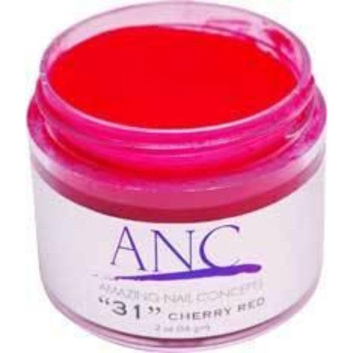 ANC Dipping Powder, 2OP031, Cherry Red, 2oz, 74598 KK