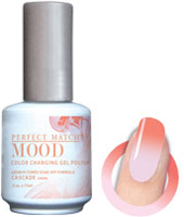 LeChat Mood Perfect Match Color Changing Gel Polish, MPMG32, Cascade, 0.5oz KK0823