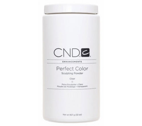 CND Perfect Color Sculpting Powders, 03085, Clear, 32oz KK0730