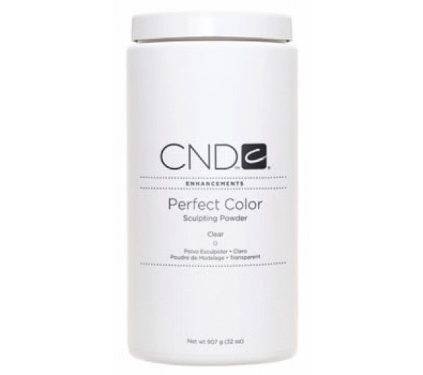 CND Perfect Color Sculpting Powders, 03085, Clear, 32oz (Packing: 6 pcs/case)