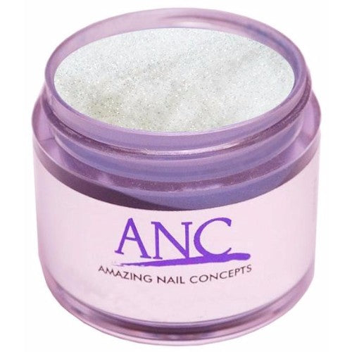 ANC Dipping Powder, 2OP034, White Glitter, 2oz, 74546 KK