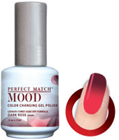 LeChat Mood Perfect Match Color Changing Gel Polish, MPMG34, Dark Rose, 0.5oz KK0823BB