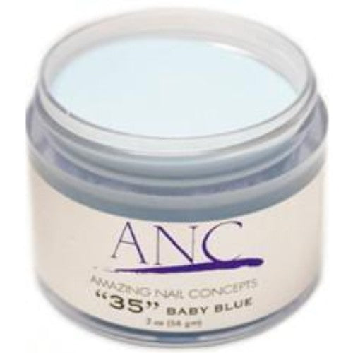 ANC Dipping Powder, 2OP035, Baby Blue, 2oz, 80502 KK