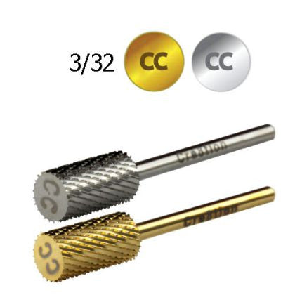 Cre8tion Carbide Coarse CC, Large Barrel, 3/32, Silver, 17002 KK BB