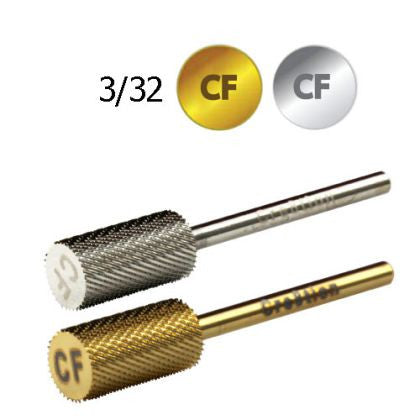 "Cre8tion Carbide CF, Small Barrel, 1/8"", Silver, 17034 KK BB"