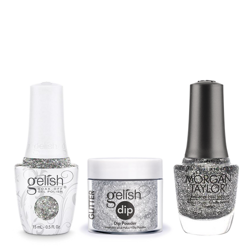 Gelish 3in1 Dipping Powder + Gel Polish + Nail Lacquer, Am I Making You gelish?, 946