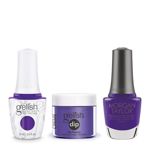 Gelish 3in1 Dipping Powder + Gel Polish + Nail Lacquer, Anime-zing Colour, 179