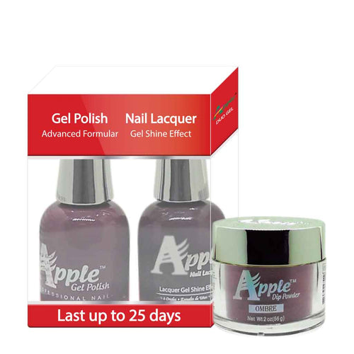 3in1 Dipping Powder + Gel Polish + Nail Lacquer, 344, Now N Forver, 2oz