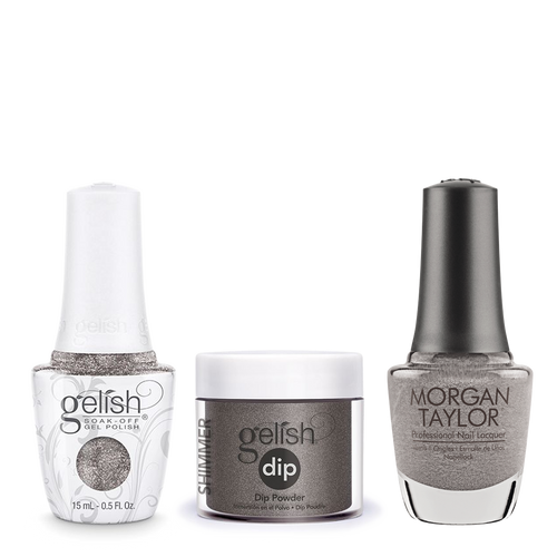 Gelish 3in1 Dipping Powder + Gel Polish + Nail Lacquer, 0.8oz, Chain Reaction