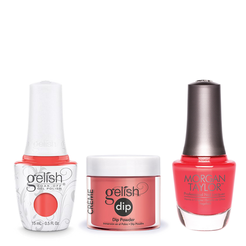 Gelish 3in1 Dipping Powder + Gel Polish + Nail Lacquer, Fairest Of Them All, 926