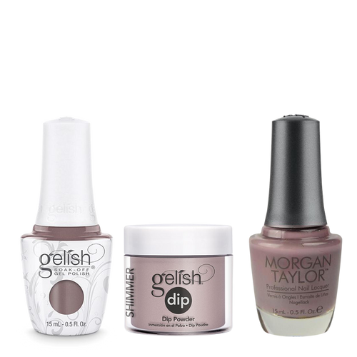 Gelish 3in1 Dipping Powder + Gel Polish + Nail Lacquer, From Rodeo To Rodeo Drive, 799