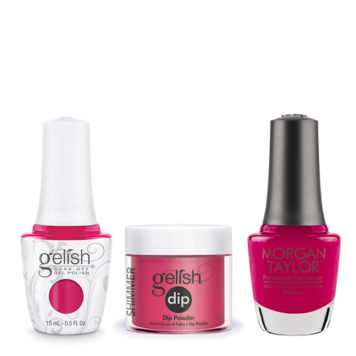 Gelish 3in1 Dipping Powder + Gel Polish + Nail Lacquer, 0.8oz, Gossip Girl