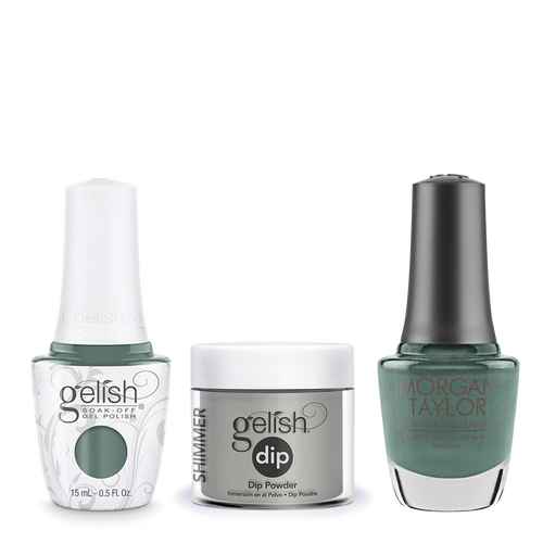 Gelish 3in1 Dipping Powder + Gel Polish + Nail Lacquer, 0.8oz, Holy Cow-girl