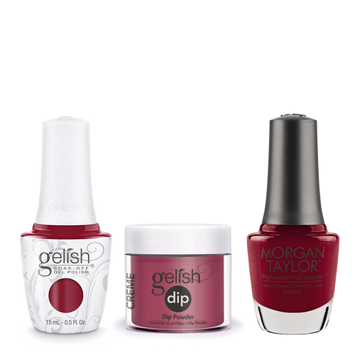 Gelish 3in1 Dipping Powder + Gel Polish + Nail Lacquer, 0.8oz, Man Of The Moment