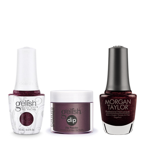 Gelish 3in1 Dipping Powder + Gel Polish + Nail Lacquer, 0.8oz, Seal The Deal