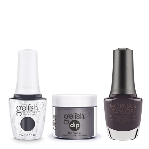 Gelish 3in1 Dipping Powder + Gel Polish + Nail Lacquer, 0.8oz, Sweater Weather
