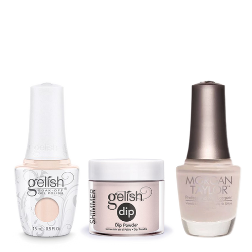 Gelish 3in1 Dipping Powder + Gel Polish + Nail Lacquer, 0.8oz, Tan My Hide