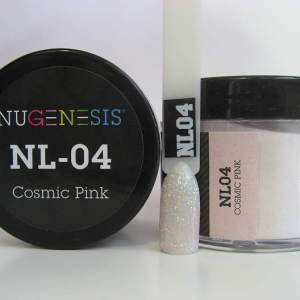 Nugenesis Dipping Powder, NL 004, Cosmic Pink, 2oz KK1003