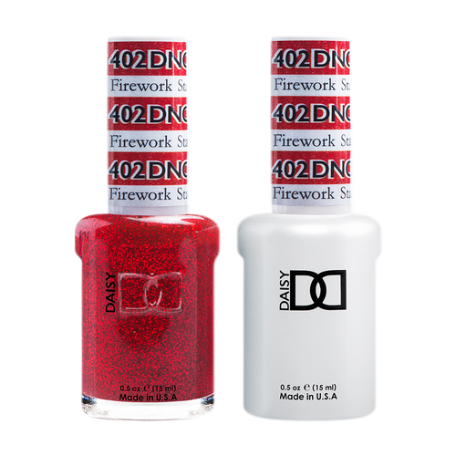 DND Nail Lacquer And Gel Polish, 402, Firework Star, 0.5oz KK1226