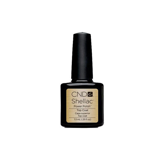 CND Shellac Gel Polish, 40401, UV Top Coat, 0.25oz KK0824