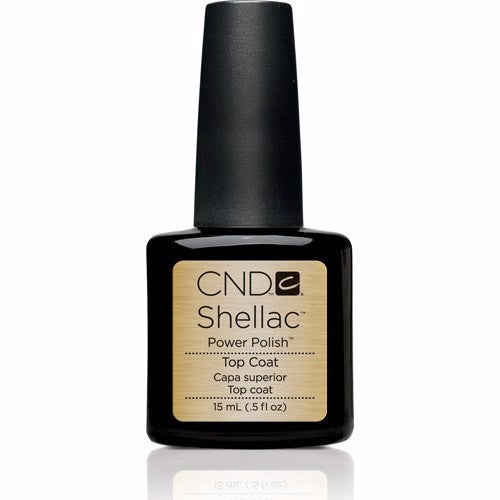 CND Shellac Gel Polish, 40403, UV Top Coat, 0.42oz KK0824